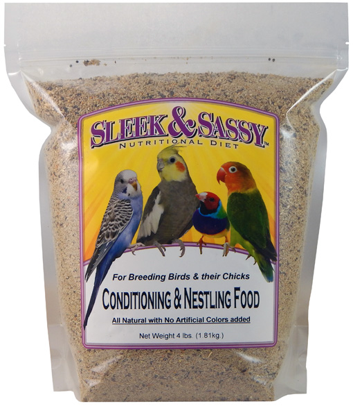 Conditioning & Nestling Bird Food - 4 lb