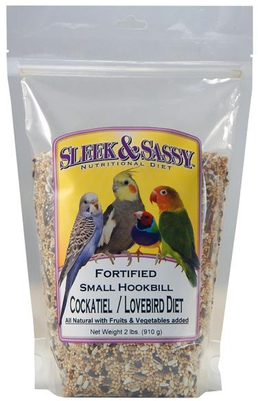 Fortified Small Hookbill Bird Food- 2 lb