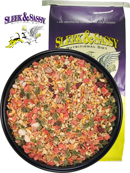Hot & Hearty Cooking Bird Food - 40 lb.
