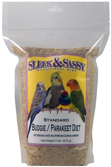 Standard Budgie (Parakeet) Food - 2 lb.