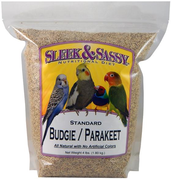 Standard Budgie (Parakeet) Food - 4 lb.