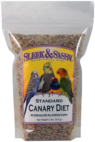 Standard Pet Canary Bird Food - 2 lb.