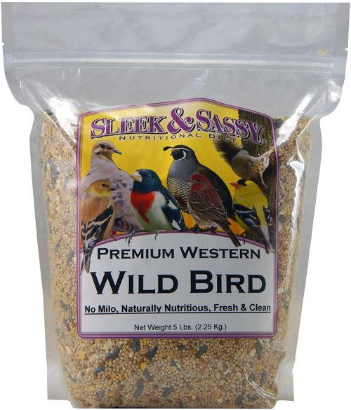 Premium Western Wild Bird Food - 5 lb.