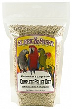pellets parrot food