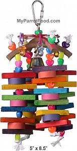 Medium Parrot Toy